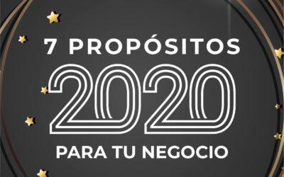 7 metas de negocio que puedes fijar para el 2020.